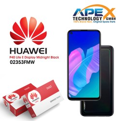 Huawei P40 Lite E LCD Display / Screen + Touch + Battery Assembly - Midnight Black