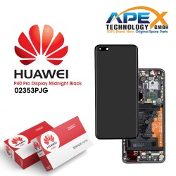 Huawei P40 Pro (ELS-NX9 ELS-N09) Lcd Display / Screen + Touch + Battery Black 02353PJG
