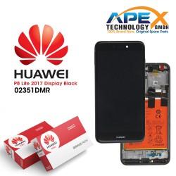 Huawei P8 Lite 2017 (PRA-L21) Lcd Display / Screen + Touch + Battery Black 02351DYM