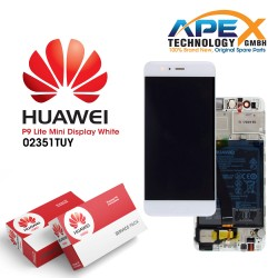 Huawei Y6 Pro 2017 Lcd Display / Screen + Touch + Battery White 02351TUY