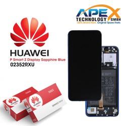 Huawei P smart Z (STK-L21) Y9 Prime 2019 (STK-L21) Lcd Display / Screen + Touch + Battery Sapphire Blue 02352RXU