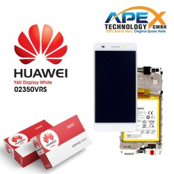 Huawei Y6-II LCD Display / Screen + Touch + Battery Assembly - White