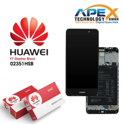 Huawei Y7 (TRT-L21) Lcd Display / Screen + Touch + Battery Grey 02351HSB