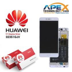 Huawei Y7 (TRT-L21) Lcd Display / Screen + Touch + Battery White 02351GJV