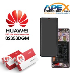 Huawei P30 Pro LCD Display / Screen + Touch + Battery Assembly - Misty Lavender