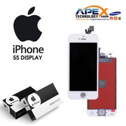 iPhone 5S LCD Display / Screen + Touch - White