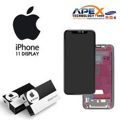 iPhone 11 LCD Display / Screen + Touch - Black