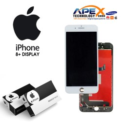 iPhone 8+ LCD Display / Screen + Touch - White