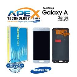 Samsung SM-A720 Galaxy A7 (2017) LCD Display / Screen + Touch - Blue