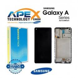 Samsung Galaxy A21 (SM-A215F) Lcd Display / Screen + Touch Black GH82-18223A OR GH-82-21199A OR GH-82-24641A OR GH-82-24642A