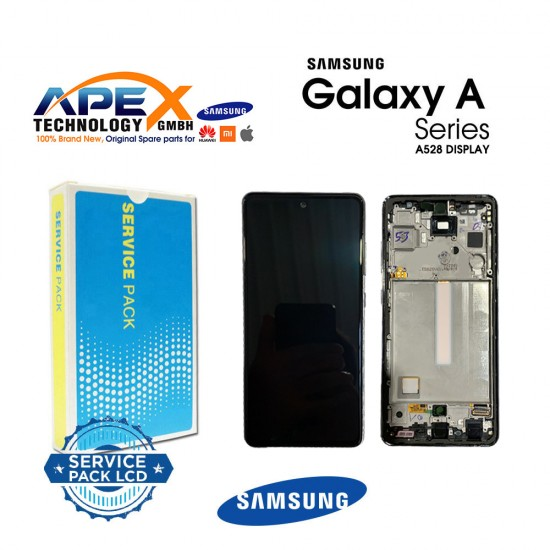 Samsung Galaxy SM-A528 (A52 5G 21 ) Lcd Display / Screen + Touch Green / Awesome Mint + Btry GH82-26912E
