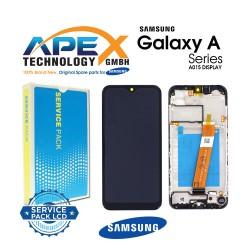 Samsung SM-A015 Galaxy A01 Lcd Display / Screen + Touch Black - GH81-18209A