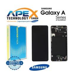 Samsung SM-A716 Galaxy A71 5G Lcd Display / Screen + Touch Black - GH82-22804A