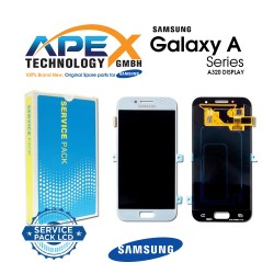 Samsung SM-A320 Galaxy A3 (2017) LCD Display / Screen + Touch Blue
