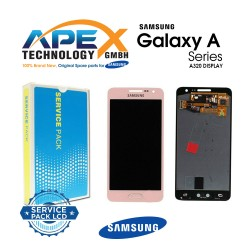 Samsung SM-A320 Galaxy A3 (2017) LCD Display / Screen + Touch Pink