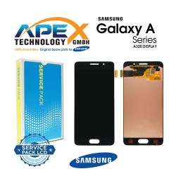Samsung SM-A320 Galaxy A3 (2017) LCD Display / Screen + Touch Black