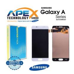 Samsung SM-A310 Galaxy A3 (2016) Lcd Display / Screen + Touch - White - GH97-18249A
