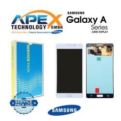Samsung Galaxy A5 (SM-A500F) Lcd Display / Screen + Touch White GH97-16679A