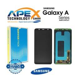 Samsung Galaxy A6+ 2018 (SM-A605FN) Lcd Display / Screen + Touch Black GH97-21878A