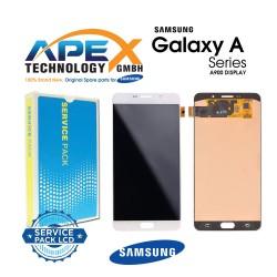 Samsung Galaxy A9 2015 (SM-A900F) Lcd Display / Screen + Touch White GH97-18367B