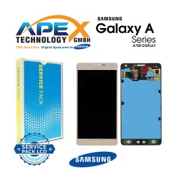 Samsung Galaxy A7 (SM-A700F) Lcd Display / Screen + Touch Gold GH97-16922F