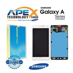 Samsung Galaxy A7 (SM-A700F) Lcd Display / Screen + Touch White GH97-16922A