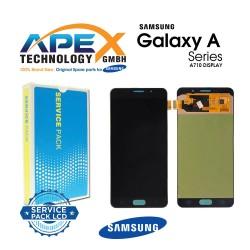 Samsung Galaxy A7 2016 (SM-A710F) Lcd Display / Screen + Touch Black GH97-18229B