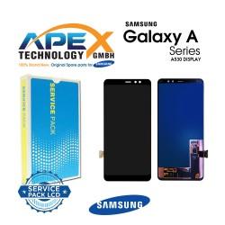 Samsung Galaxy A8 2018 (SM-A530F) Lcd Display / Screen + Touch Black GH97-21406A