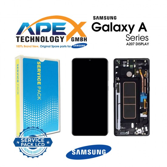 Samsung SM-A207 Galaxy A20S LCD Display / Screen + Touch Black