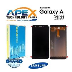 Samsung SM-A260 Galaxy A2 Core Lcd Display / Screen + Touch Black - GH97- 23123A