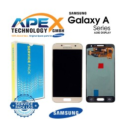 Samsung SM-A300 Galaxy A3 Lcd Display / Screen + Touch - Pink - GH82-16747F