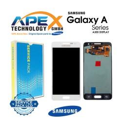 Samsung SM-A300 Galaxy A3 Lcd Display / Screen + Touch - White - GH82-16747A