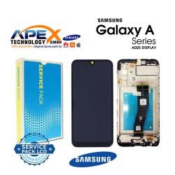 Samsung SM-A025F Galaxy A02s Lcd Display / Screen + Touch Black - GH81-20118A OR GH81-18456A
