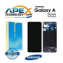 Samsung SM-A507 Galaxy A50S LCD Display / Screen + Touch Black