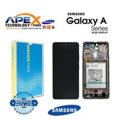 Samsung Galaxy SM-A526 / A525 (A52 5G / 4G 21 ) Lcd Display / Screen + Touch Black + Btry GH82-25229A OR GH82-25230A