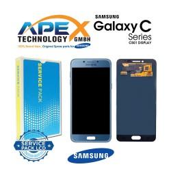 Samsung Galaxy C5 Pro (SM-C501F) Lcd Display / Screen + Touch Blue GH97-20450B