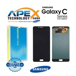 Samsung Galaxy C7 Pro (SM-C701F) Lcd Display / Screen + Touch Black GH97-19135B