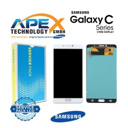 Samsung Galaxy C9 Pro (SM-C900F) Lcd Display / Screen + Touch White GH97-19624A