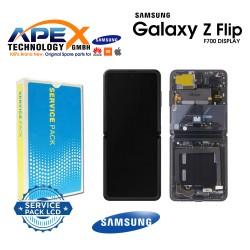 Samsung Galaxy Z Flip (SM-F700F) Lcd Display / Screen + Touch mirror Black GH82-22215A