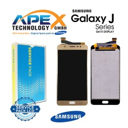 Samsung SM-G610 Galaxy / J7 Max LCD Display / Screen + Touch - Gold