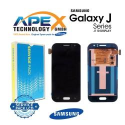 Samsung SM-J110 Galaxy J1 Ace Lcd Display / Screen + Touch - Black-GH97-17843B