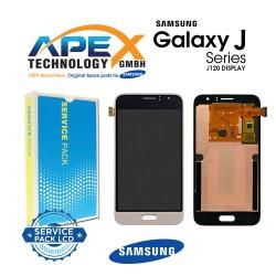 Samsung Galaxy J1 2016 (SM-J120F) Lcd Display / Screen + Touch Black  GH97-18728A