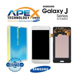 Samsung Galaxy J3 Pro (SM-J310F) Lcd Display / Screen + Touch White GH97-18977A