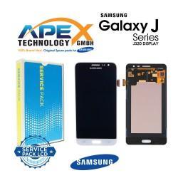Samsung Galaxy J3 2016 (SM-J320F) Lcd Display / Screen + Touch White GH97-18414A