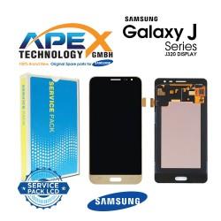 Samsung Galaxy J3 2016 (SM-J320F) Lcd Display / Screen + Touch Gold GH97-18414B