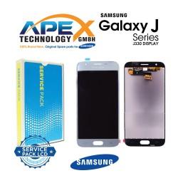 Samsung SM-J330 Galaxy J3 (2017) LCD Display / Screen + Touch Silver
