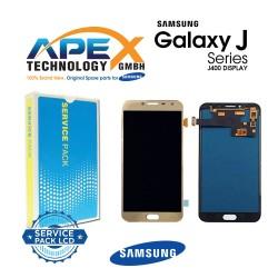 Samsung Galaxy J4 (SM-J400F) Lcd Display / Screen + Touch Gold GH97-22084B
