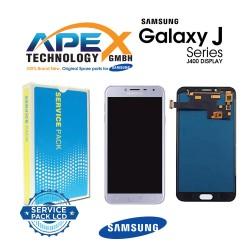 Samsung Galaxy J4 (SM-J400F) Lcd Display / Screen + Touch Silver GH97-22084C