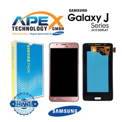Samsung Galaxy J5 2016 (SM-J510F) Lcd Display / Screen + Touch rose Gold GH97-19466D