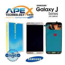 Samsung Galaxy J7 Nxt (SM-J701F) Lcd Display / Screen + Touch Gold GH97-20904B